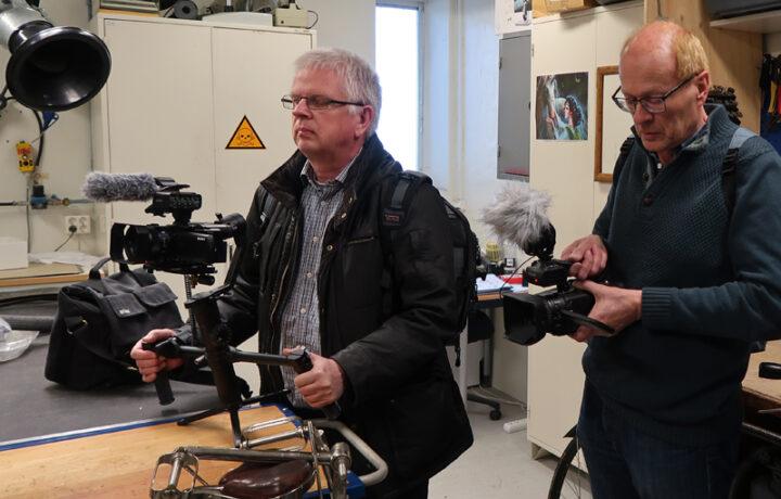 Jan och Mats på Tekniska museet